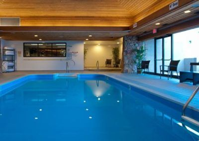 Swimming Pool at Thompson Hotel in Kamloops