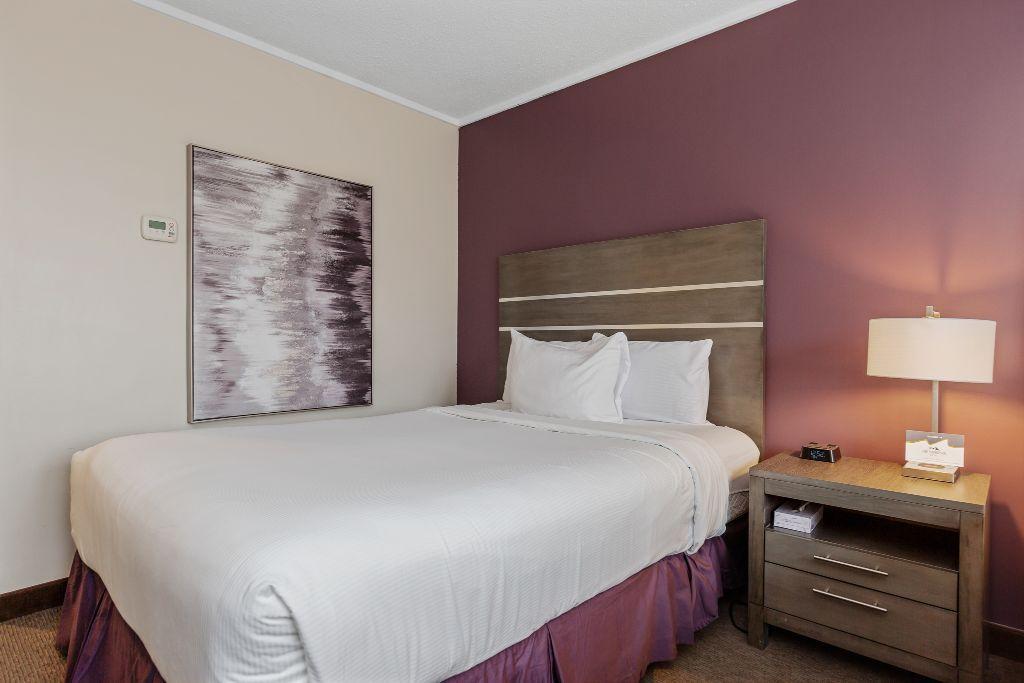 Queen Bed w/ Murphy Bed